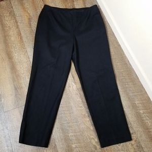 Chico's Black Career Wear High Rise Straight Pants